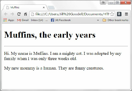 HTML for Kids Chapter5 Basic text formatting